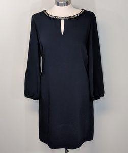 Tahari Chain Link Dress